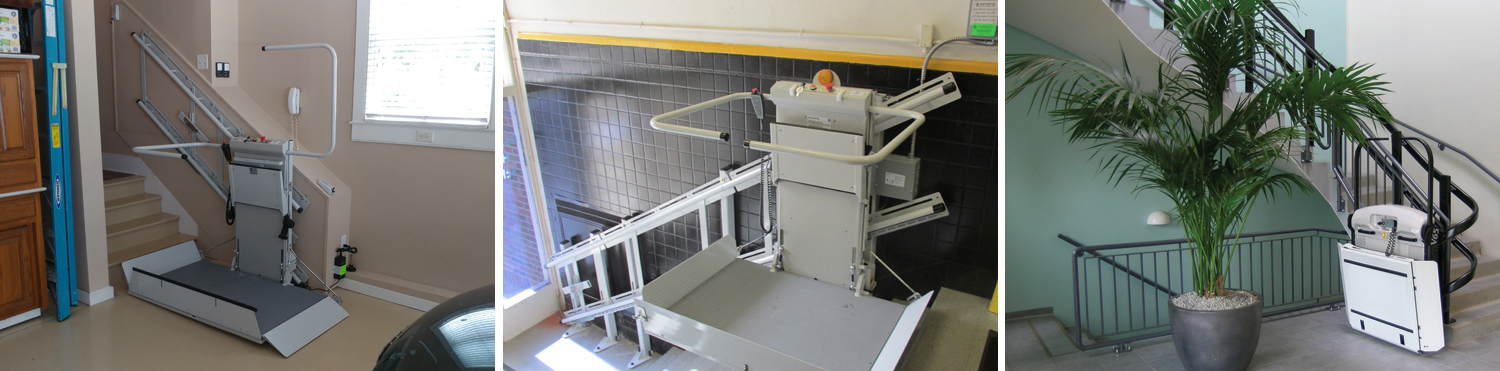 Inclined Platform Lift Slide Elevator
