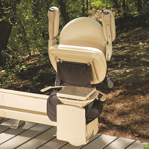 Curved Outdoor Stairlifts
