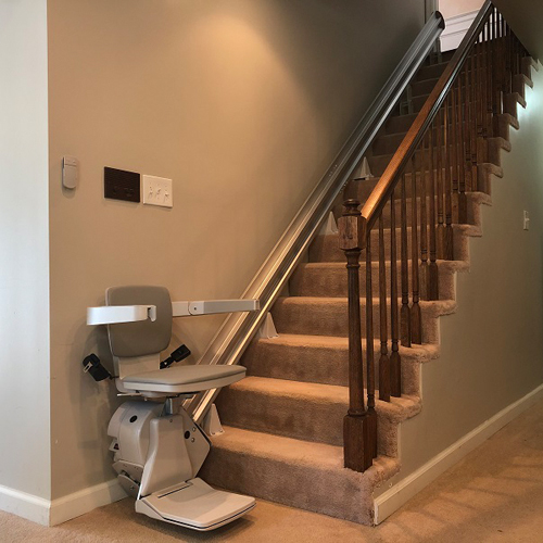 Bruno Elan SRE 3050 Residential Straight Rail Stair Lift