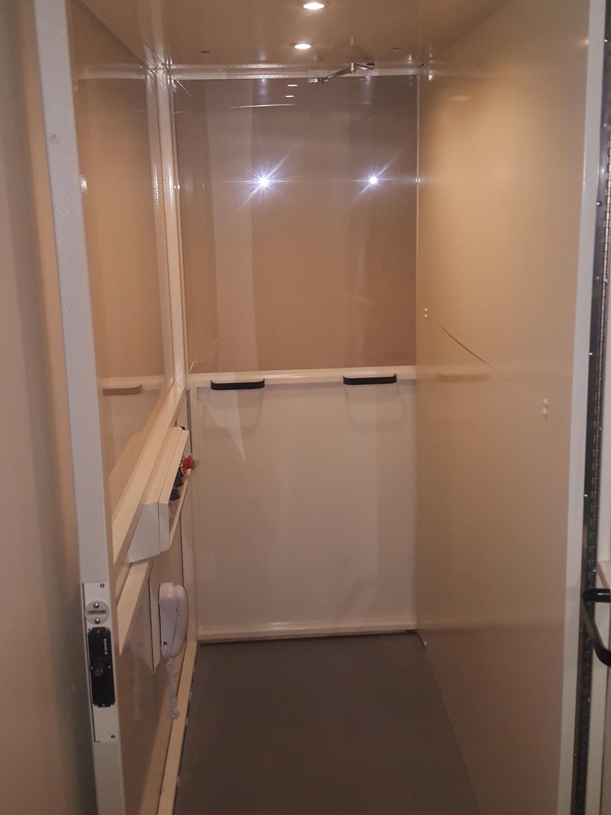 Hydraulic Through the Floor Elevator