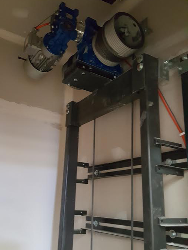 Pitless Winding Drum Elevators