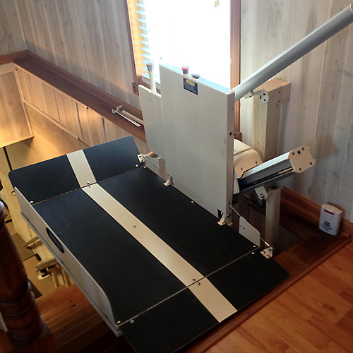 Residential Indoor Incline Wheelchair Stair Lift
