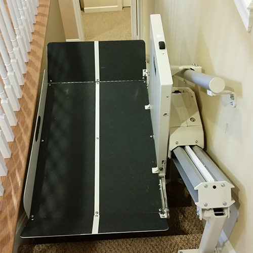 Residential Indoor Incline Wheelchair Stair Lift ...